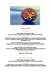 hadiths faibles