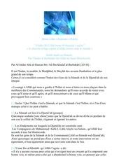 Fichier PDF kit b sharh us sunnah