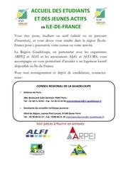 Fichier PDF logements ile de france pour jeunes actifs et etudiants