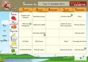 menus ecoles 7 au 11 oct 2013