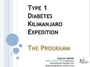 Fichier PDF type 1 diabetes kilimanjaro expedition programm