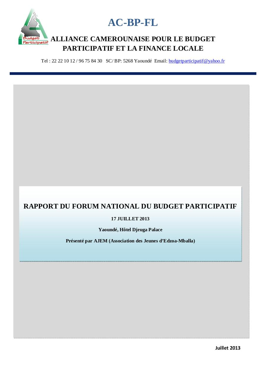 Rapport_Forum_national_BP.pdf - page 1/59