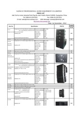 sanway audio pricelist 2013 3