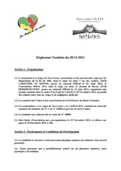 reglement tombola 20