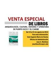 venta especial de libros desde 2 00 del 19 al 31 de agosto de 2013