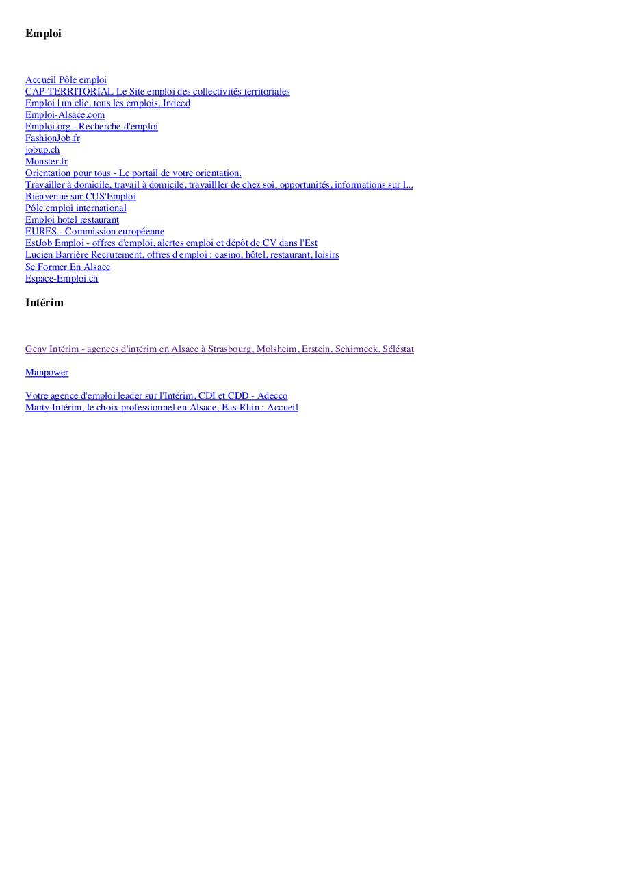 signets par david - liste pdf