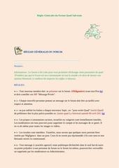 Fichier PDF regles generales du forum quad salvetain