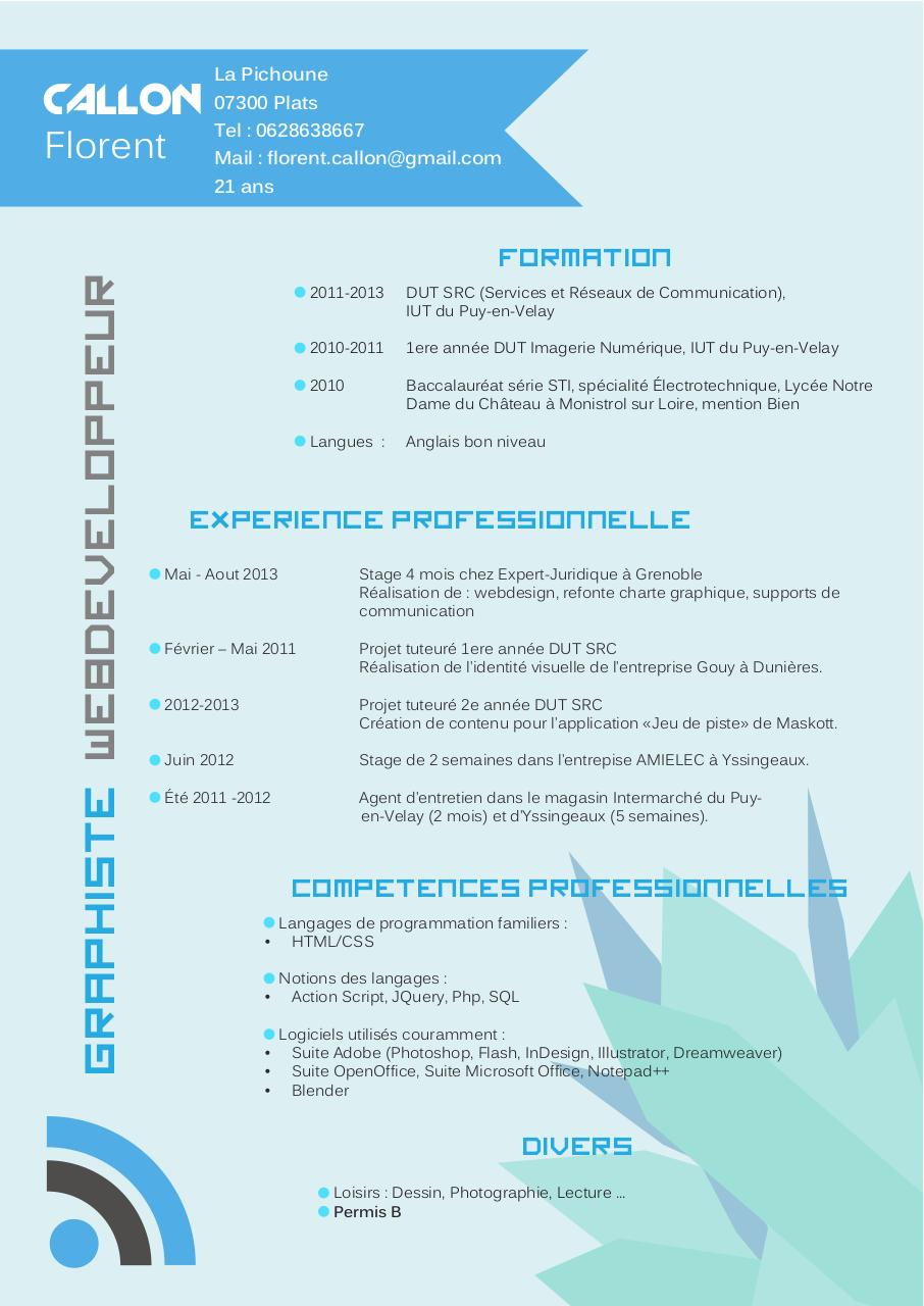 cv v2 callonflorent  cv v2 callonflorent pdf
