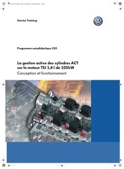 ssp 510 la gestion cylindres act tsi 1 4 l 103kw