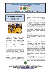 the newsletter of the governor august 2013