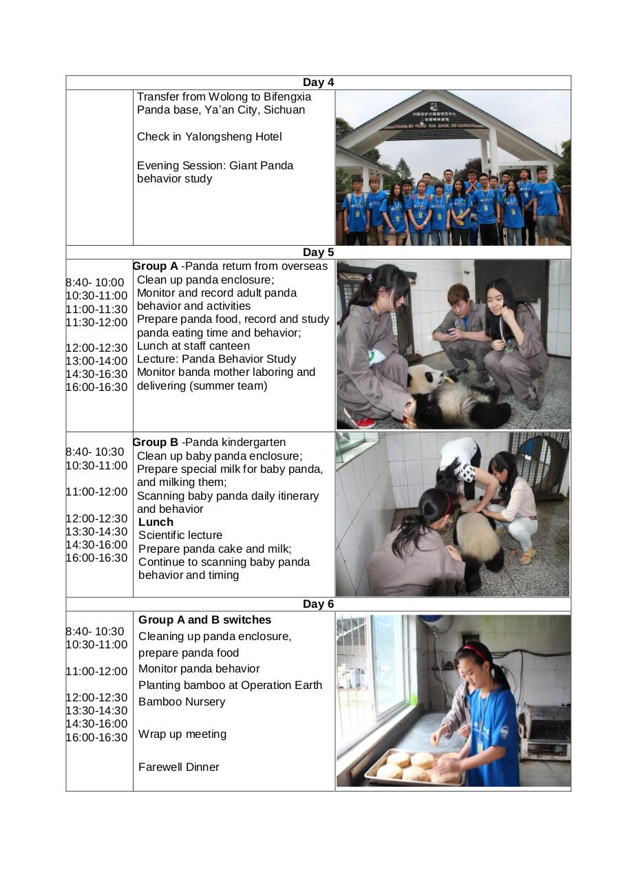 Aperçu du document Agenda for Wilderness Training of Giant Panda.pdf - page 2/3