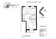 les plans des trois logements disponibles