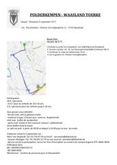 uitnodiging polderkempen waasland tourke 2013 frans