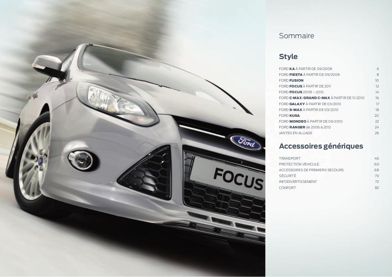 Ford Galaxy C-Max S-MAX KUGA côté droit aile miroir indicateur objectif clair