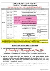 planning 2013 2014