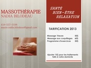 tarification 2013