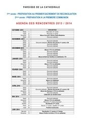 agenda 2013 2014