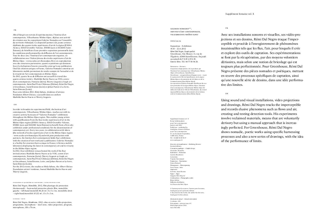 Galeries Nomades 2012, IAC:Villeurbanne - Edition Analogues.pdf - page 2/9