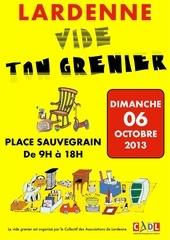 affiche vide grenier 2013 1