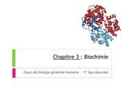 biochimie partie 3