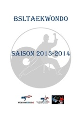 bsltaekwondo fiche inscription 2013 2014pdf