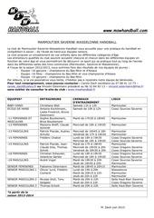 creneaux entrainements 20132014