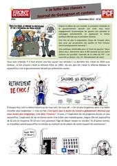 2013 09 journal n10 front de gauche gueugnon