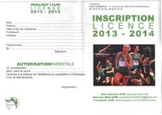 inscriptions acw