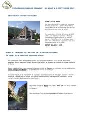 programme clf espagne 2013 1