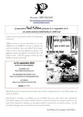 communique presse concert 21092013