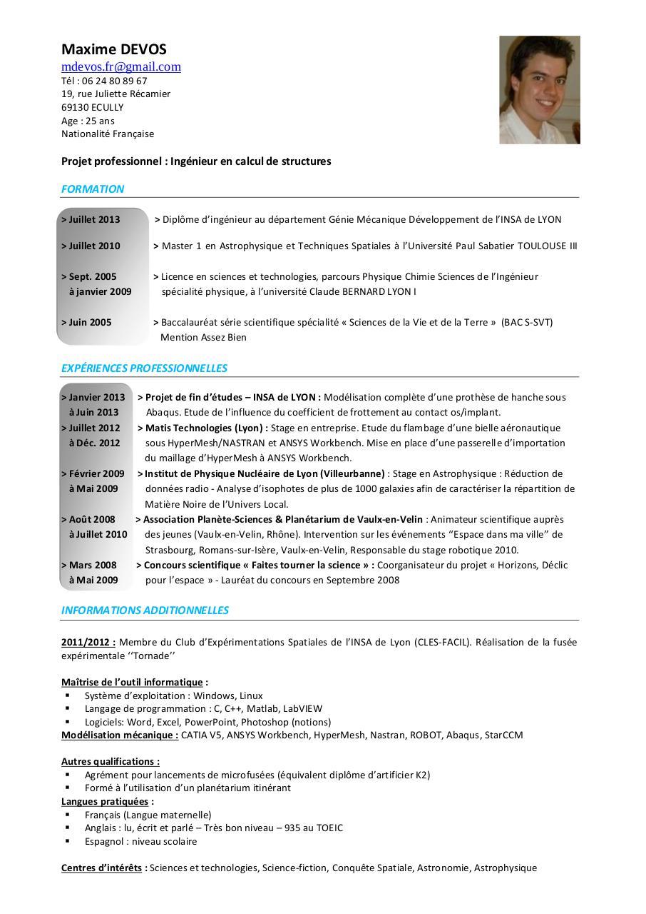 maxime devos par un utilisateur satisfait de microsoft office - devos maxime cv pdf