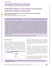 hyperthyroidism and pulmonary 4