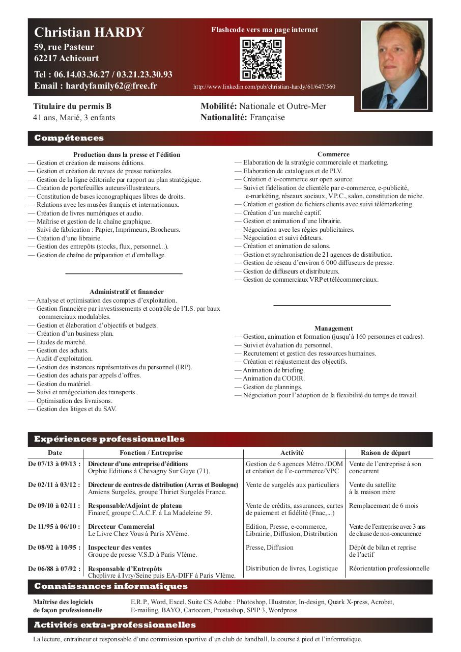 mise en page 1 - cv hardy pdf
