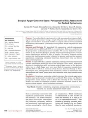 surgical apgar outcome score perioperative risk assessment