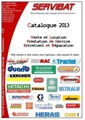 catalogue servibat 2013 levage materiel et echelle