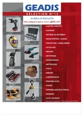 catalogue gea 2013