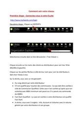 Fichier PDF comment voir votre reseau maj
