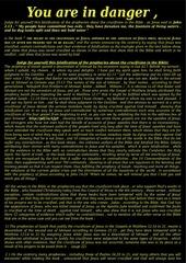 Fichier PDF message crucifixion en anglais