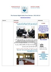 Fichier PDF aihr iadh human rights press review 2013 09 14