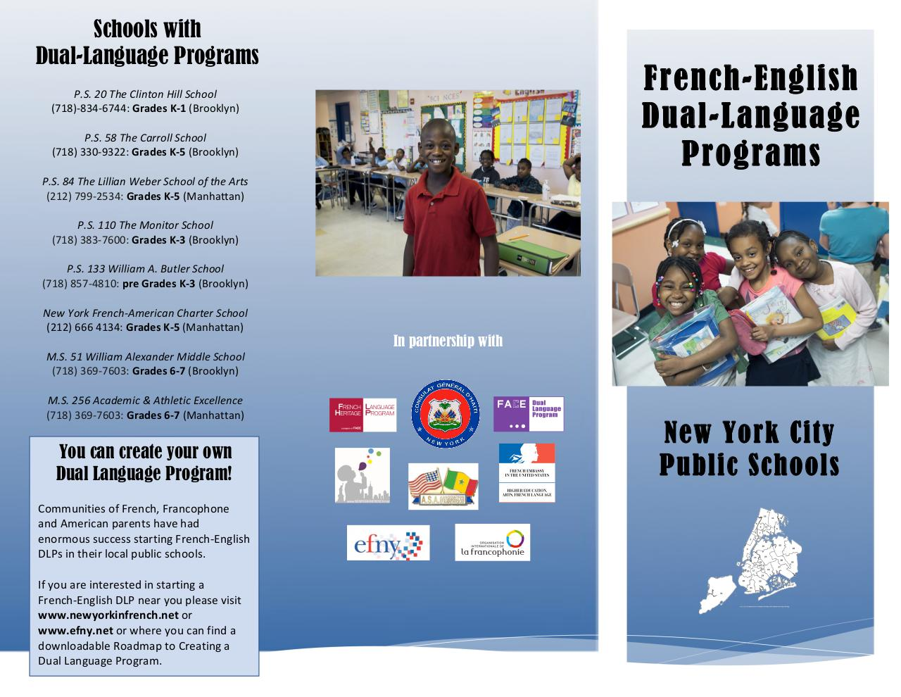 Aperçu du document Dual Language Brochure ENGLISH VERSION.pdf - page 1/2