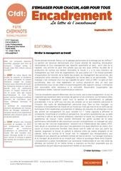 lettre de l encadrement uce septembre 2013