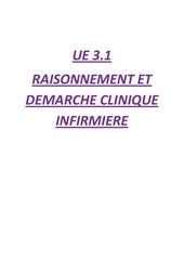 ue 3 1 raisonnement et demarche clinique infirmiere