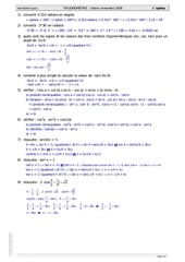 01 trigonomttrie 2009 1 solutions