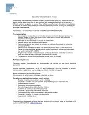 Fichier PDF conseiller en emploi annonce