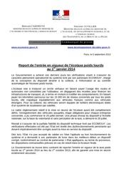 cp report de l ecotaxe poids lourds 05 09 2013