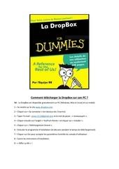 Fichier PDF telecharger la dropbox