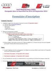amd 2 formulaire inscription