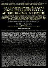 1 jjc jesus jamais crucifie en 18 pages