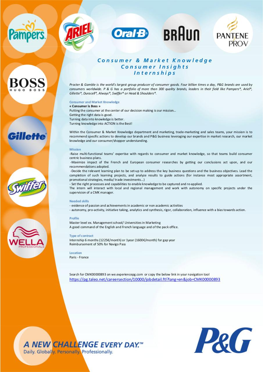 Aperçu du document 3. P&G Stage Etudes marketing France.pdf - page 1/1