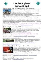 les bons plans du week end semaine n 38 2013